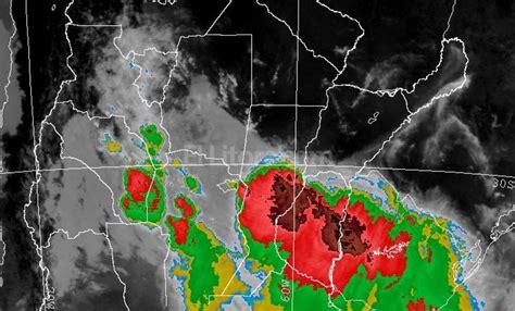 imagenes satelitales smn argentina as 237 se desplaza la tormenta por santa fe el litoral