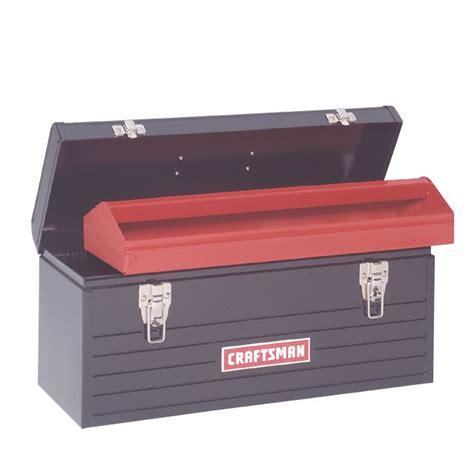 20 inch metal box craftsman 20 quot metal hand box