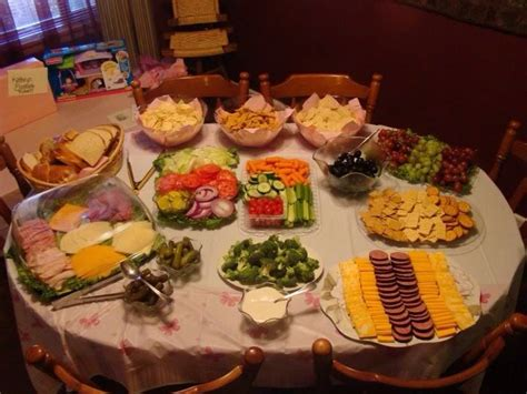 Baby Shower Food Ideas by What Should You Serve Food For Baby Showers Baby Shower