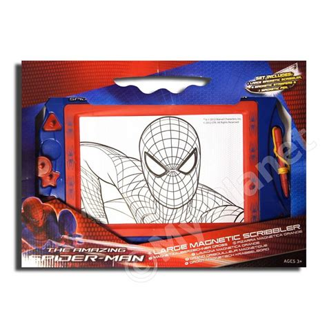magnetic doodle board india the amazing spider large magnetic scribbler drawing
