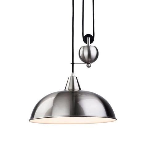 Fall Ceiling Lights Modern Vintage Century Pendant Chrome Pulley L Rise And Fall Ceiling Light Kitchen