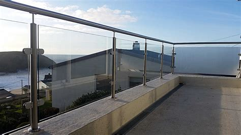 stainless steel banister balustrades glass steel jays gates