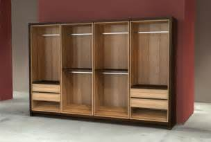 Prefabricated Wardrobe Units Modular Closet System Modern Bamboo