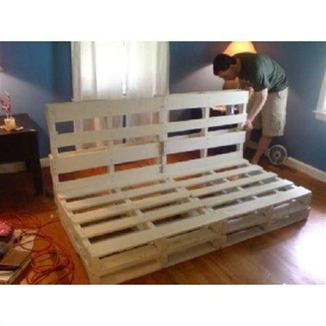 diy futon bed best 25 pallet furniture instructions ideas on pinterest