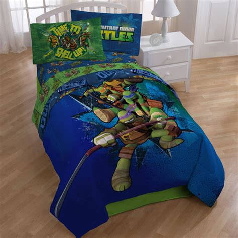ninja turtles bedding teenage mutant ninja turtles comforter walmart com