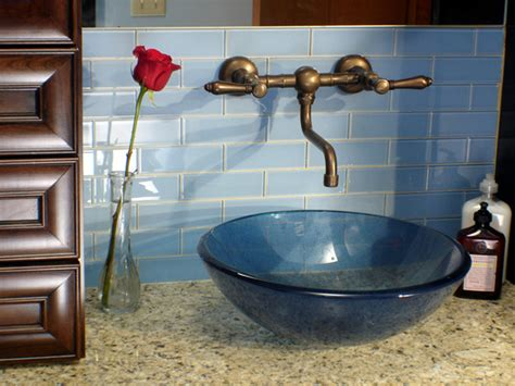 how to install a glass tile backsplash how tos diy