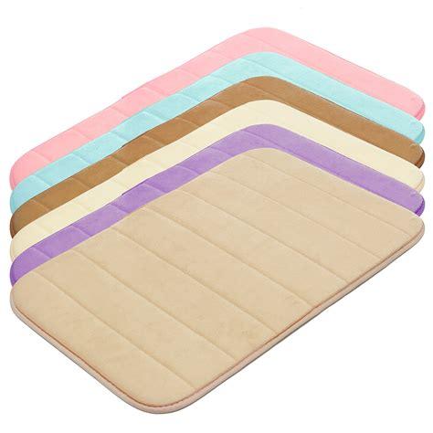 Styrofoam Warna 40x60cm 25 Lembar bath towels mats 40x60cm multi color thickened coral velvet memory foam rising rug