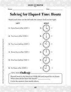 elapsed time word problems worksheets abitlikethis