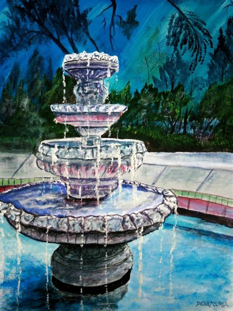acrylic paint with water watercolor paintings by derek mccrea painting of