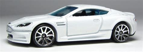 Hotwheels Wheels Aston Martin Dbs the lamley look wheels aston martin dbs in white and the lights are back