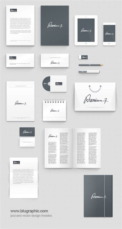 photoshop mockup template 23 free sets of branding identity mockup templates psd