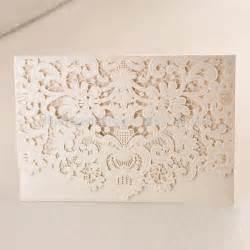 2015 new white lace laser cut wedding invitation christian wedding card view wedding