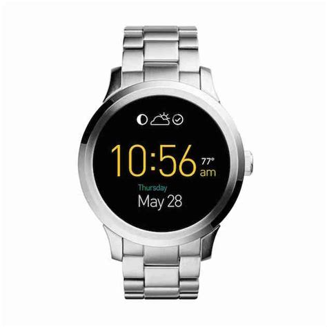 android wear smartwatch fossil finally unveils the q founder smartwatch with android wear