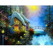 Fairytale Cottage Wallpaper  ForWallpapercom