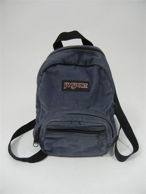 Jansport Mini E vintage mini backpack jansport corduroy grunge 90 s