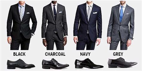 color suite how to shoes for every color suit business insider
