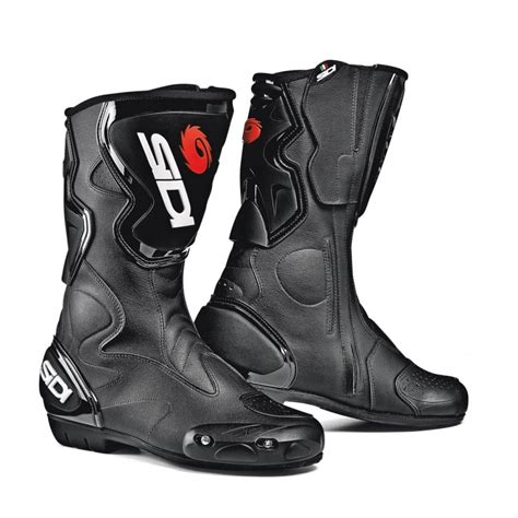 sidi motorcycle boots sidi fusion black motorcycle boots from custom lids uk