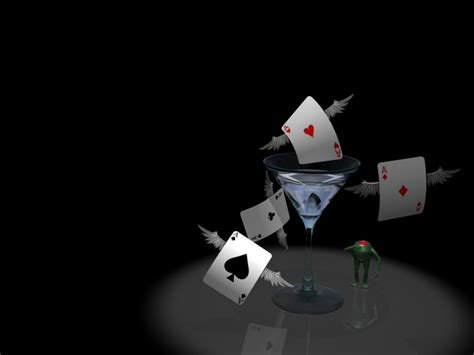 poker cards digital art
