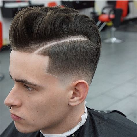 pompadour with hard part high fade pompadour new style for 2016 2017