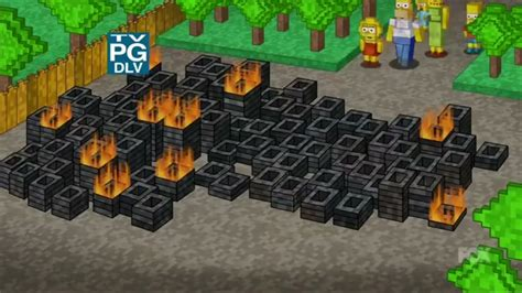 simpsons minecraft couch gag the simpsons features minecraft themed couch gag in latest