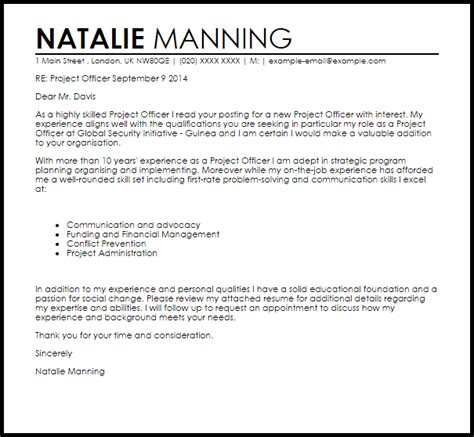 cover letter sle for project coordinator project cover letter 28 images sle cover letter
