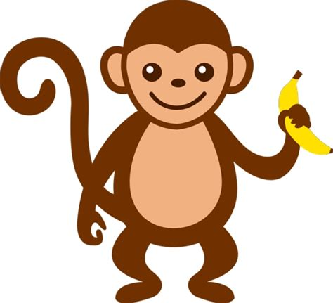 clipart monkeys free monkey clip cliparts co