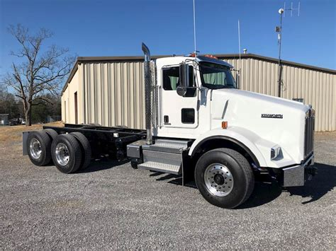 kenworth chassis for sale 2018 kenworth t800 cab chassis truck for sale