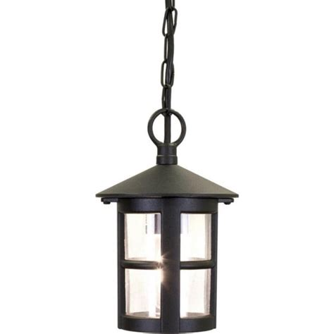 circular hanging porch lantern with small window bars in