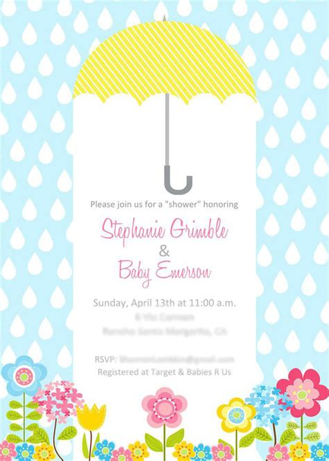 April Showers Bring by April Showers Bring May Flowers Themed Baby Shower Via