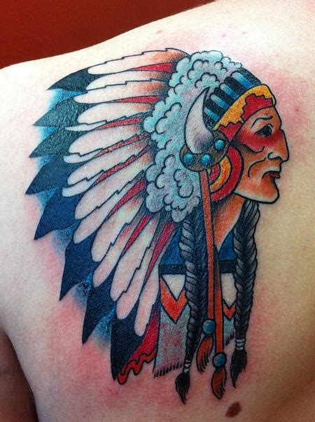 tattoo old school indian old school american indian by rebecca smith