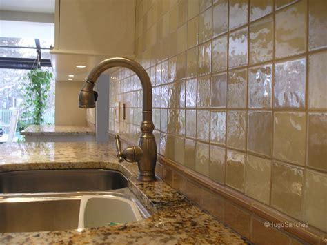 glazed porcelain tile backsplash traditional kitchen glazed ceramic tile c 233 ramiques hugo sanchez inc