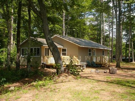 Vacation Cabin Rentals The Quaint Clam Lower Clam Lake Clam Lake Wisconsin