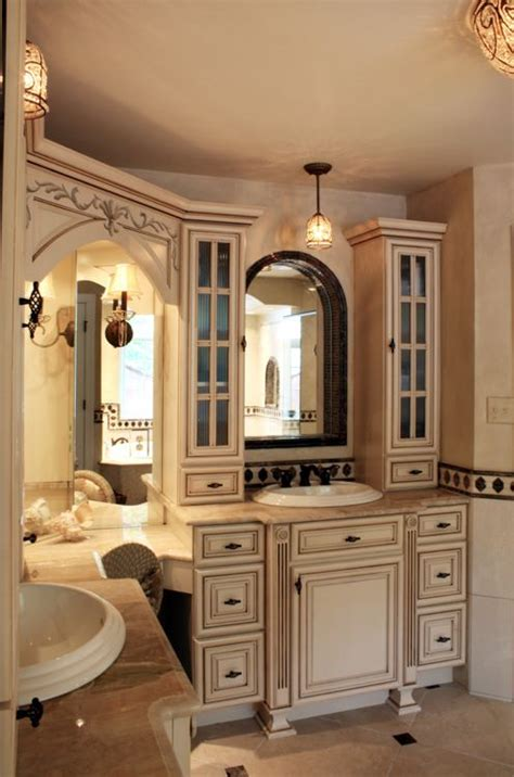 French country bathroom vanities design decorating cozy ideas with