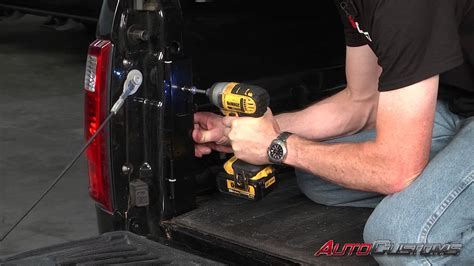 undercover swing case installation undercover swing case tool box install on 2014 ford f250