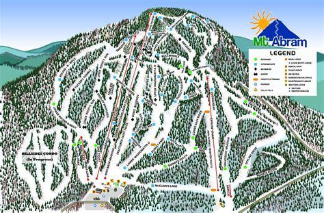 maine ski resorts map mt abram ski resort skimap org