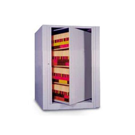 4 Shelf Datum EZ2® Rotary Action File Cabinet   Starter Unit