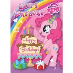 my pony happy birthday card danilo