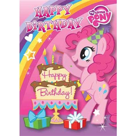 my pony birthday card template my pony happy birthday card danilo