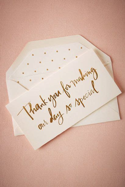 Wedding Gold Fonts by 11 Wedding Thank You Card Ideas You Ll Want To Mrs2be