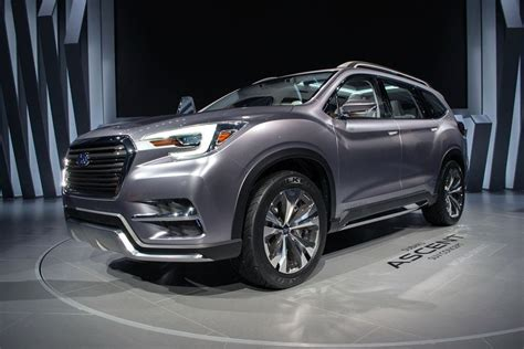 2019 Subaru Ascent Towing Capacity by 2019 Subaru Ascent Release Interior Towing Capacity