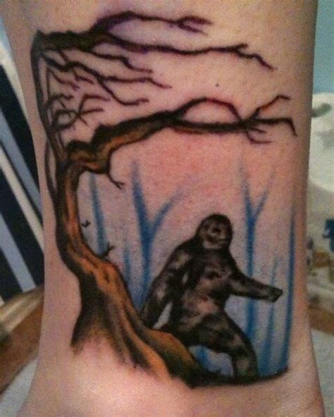 bigfoot tattoo my sasquatch i i m bigfootisreal