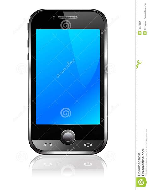 stock mobili cell smart mobile phone stock image image 18349461
