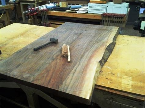 black walnut desk top black walnut desk top by schroeder lumberjocks com