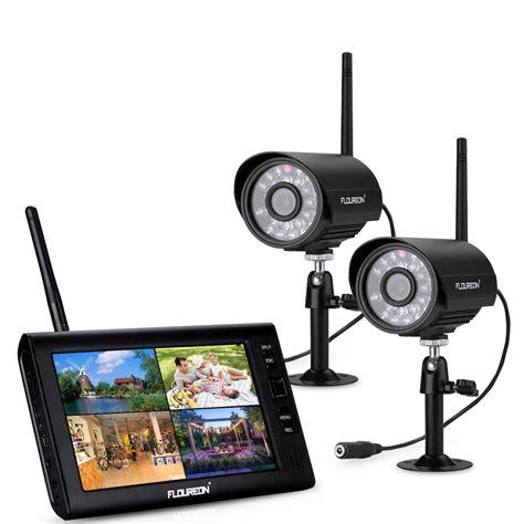 Cctv Wireless Outdoor 7 quot lcd digital wireless 4 channel cctv dvr system outdoor baby monitor uk ebay