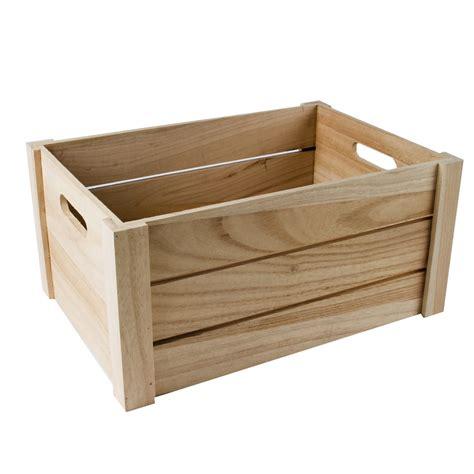decorar caja de madera caja de madera natural de 3 listones grande casa viva