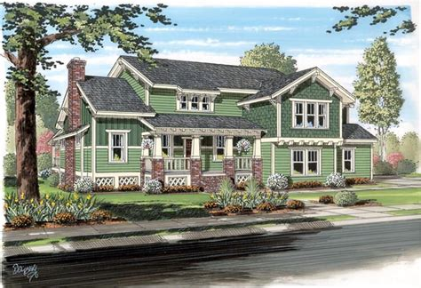 traditional cottage house plans house plan 74012 at familyhomeplans com