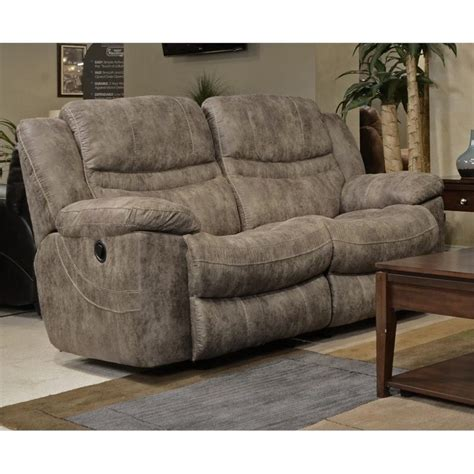 rocker reclining loveseat catnapper valiant rocking reclining loveseat in marble