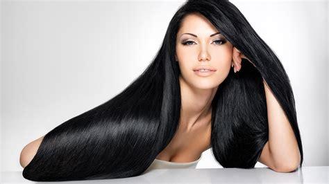 mujer con el pelo negro largo sano lujuriante foto de 5 trucos para hacer crecer tu cabello r 225 pidamente y una