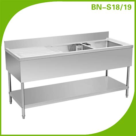 restaurant kitchen sink stainless steel sink with drain