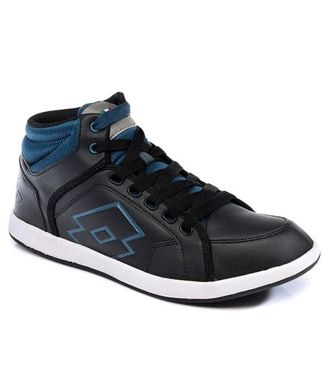 lotto black casual shoe price in india buy lotto